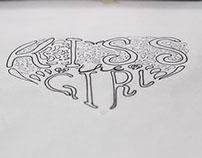Kiss The Girl Lettering