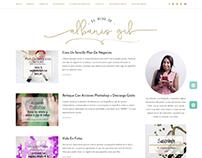 Diseño de blog basado en wordpress