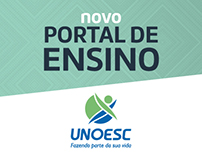 Novo Portal de Ensino | Unoesc