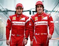 Fórmula 1™ 2011 - Ativação Banco Santander