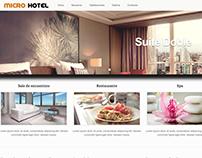 Propuesta para sitio web de Hotel
