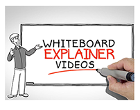 Videos explainer whiteboard