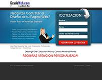 Página de Captura Para Diseño Web - Venezuela