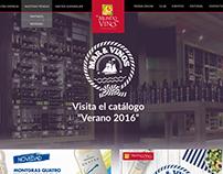 Modificación website El Mundo del Vino