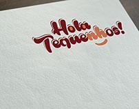 Hola Tequenhos! Logo Design