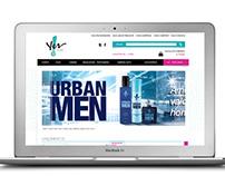 Site/loja Yes Cosmetics