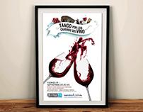 Afiche · Tango por los caminos del Vino