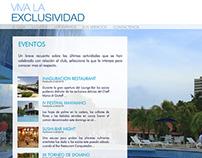Diseño web para el Club Náutico