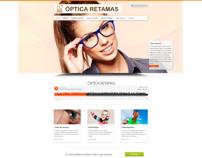 Website Optica Retamas