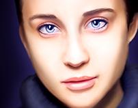 Maria Pedraza Portrait