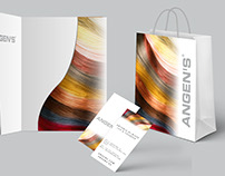 Corporate Stationery for Hair Extension Brand