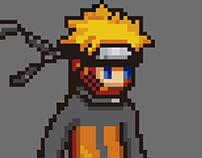 Pixel Art: Naruto