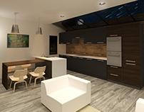 House 53 #Kitchen #livingroom