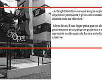 Projeto Empresa Júnior OPET / Bright Solutions