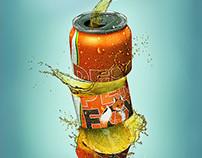 Tin of soda