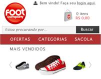 Loja Footcompany Mobile