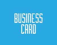 Business Card / Tarjetas de Presentación
