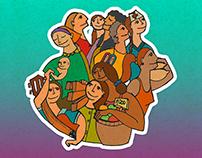 Ilustración Día de la Mujer - Diseño Editorial