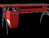 Mueble de oficina (Puesto de trabajo individual)