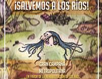 """Afiche """"Salvemos a los Ríos!"""