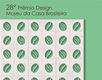Cartaz - 28º Prêmio Design Museu da Casa Brasileira