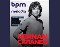 Diseño editorial: revista para música electrónica