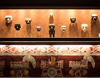 Registro fotográfico en Museo nacional de antropología.