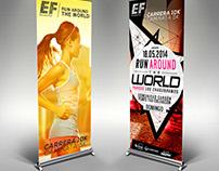 Diseño Publicitario para Carrera EF 10K