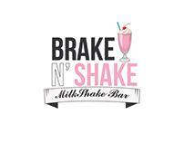 Logo para Milkshake Bar fictício.