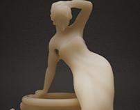 Wax Statue