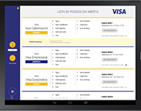 Visa - Cafe Mobile App