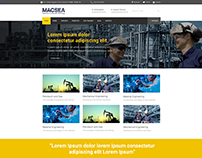 MACSEA @ Webdesign