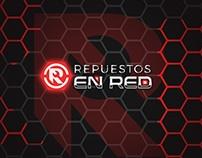 Repuestos en Red | Logo design (2016)