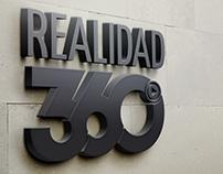 Re diseño logotipo Realidad 360