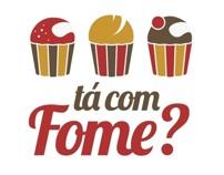 Tá com fome? - Logo Design