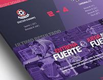 Propotype Website Soccer Team