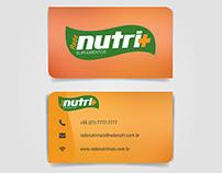 Cartão de Visita e Identidade visual - Nutri+