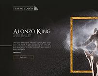 Teatro Colon - Web Redesign