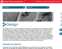 Mackenzie.br: Web Layout (Desktop, Mobile e Tablet)