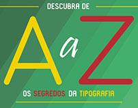 Cartaz de divulgação - Seminário de Tipografia