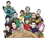 Illustration - Comics Style