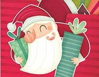 Colección christmas. Ilustración
