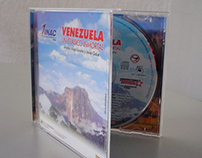 Diseño carátula de CD musical para INAC