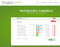 PagSeguro Sandbox Hotsite