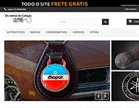 E-commerce - Chaveiros de Coleção