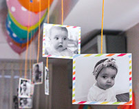 Cumple 1 año Isabella