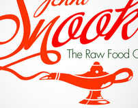 The Raw Food Genie // Logo