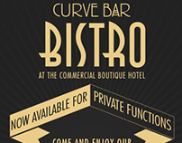 Curve Bar Flyer
