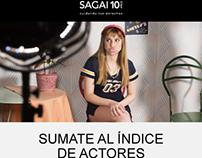 Programación responsive de newsletters para SAGAI.