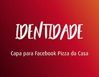 Capa para Facebook - Pizza da Casa
